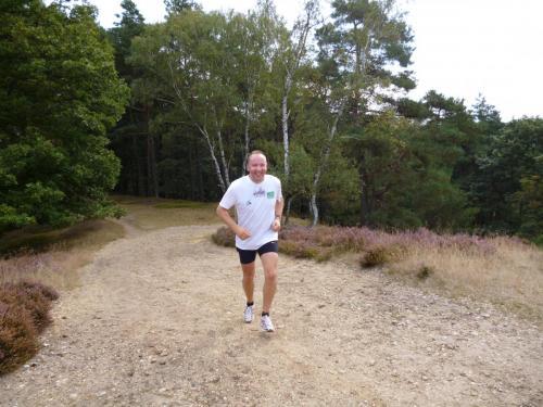 30. Jogging bergauf und bergab